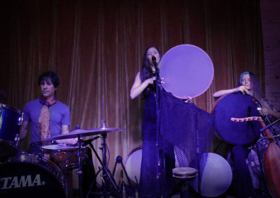 """Ariana Saraha """"Sisters of the Drum"""" concert with Marla Leigh, Boulder CO, August 2016"""