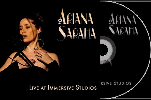 Ariana Saraha Live CD